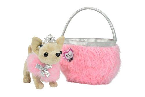 Simba Toys 105890618 - Chihuahua di peluche con borsetta Love Beauty Princess