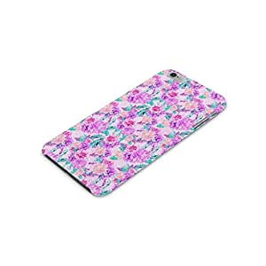 Cover Affair Floral / Flowers Printed Designer Slim Light Weight Back Cover Case for Apple iPhone 6S Plus (Pink)