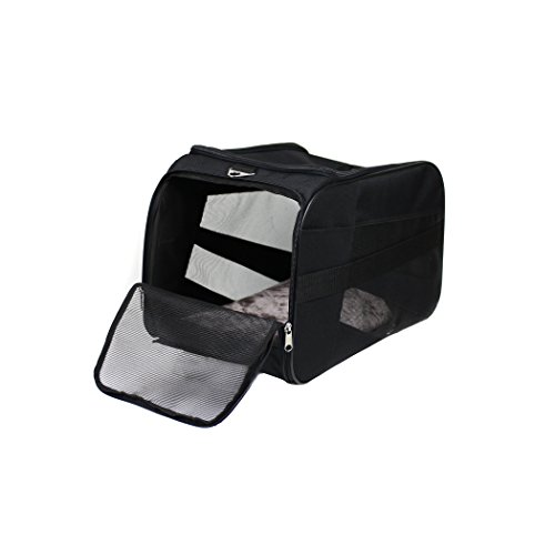carrello-smart-carrier-per-animali-grande-22-x-4-x-12-nero