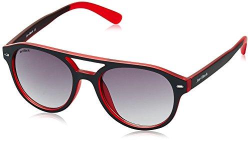 Joe Black Gradient Oval Unisex Sunglasses - (JB-789-C1|52|Grey Lens)