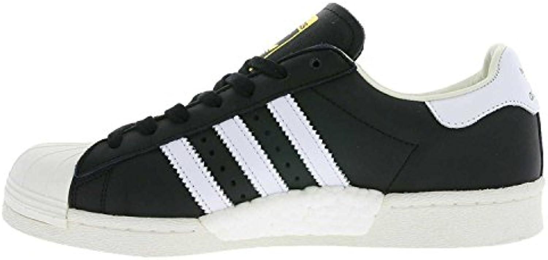 adidas Schuhe – Superstar schwarz/weiß/golden Größe: 40 -