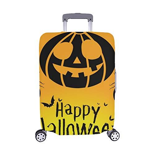 (Nur abdecken) Happy Halloween 31. Oktober Spandex- Staubschutz Trolley Protector case -Koffer Reisegepäck-Schutzkoffer-Abdeckung 28,5 X 20,5 Zoll