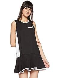 Just F by Jacqueline Fernandez Women's Pleated Mini Dress