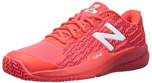 New Balance Uomini 996 V3 Clay Court Scarpe da Tennis Scarpa per Terra Rossa Arancione - Rosso Scuro 42,5