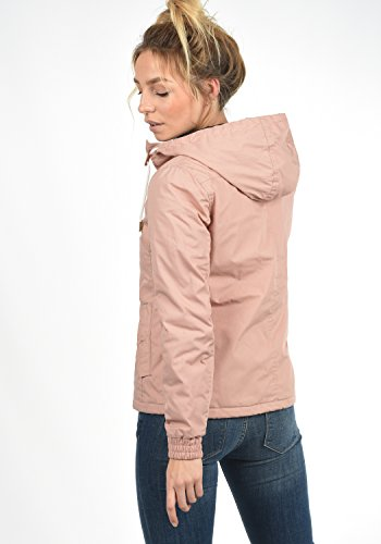 DESIRES Tilda Damen Übergangsjacke Jacke gefüttert mit Kapuze, Größe:XL, Farbe:Mahog. Rose (4203) - 5
