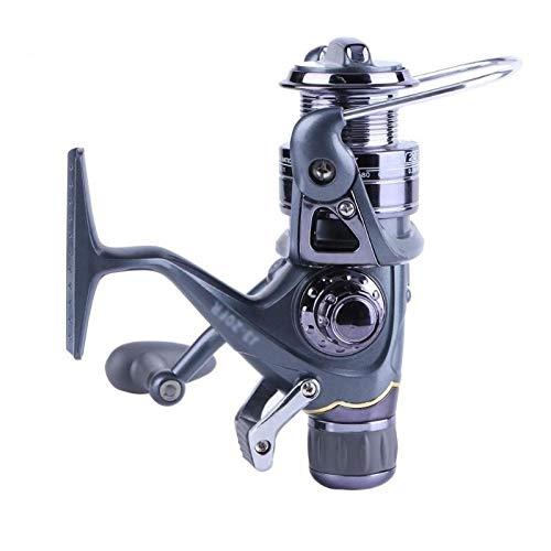 Metal 20 30 40 Angelrolle Carp Spinnrolle Carbon-vorderes und hinteres Drags 3BB Lager Metall Angelrollen Werkzeuge Zubehör Schnelle (Größe : 20RF)