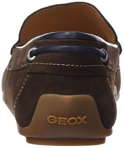 Geox U Giona A, Mocassins Homme Marrone (Marrón (Cigar))
