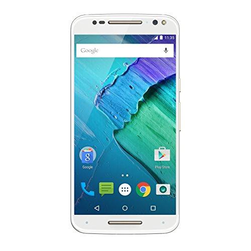 Motorola Moto X Style Smartphone (14,4 cm (5,7 Zoll), 32 GB Speicher, Android Lollipop 5.1.1) weiß