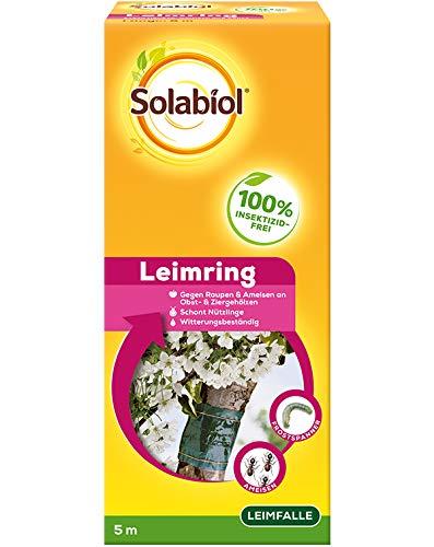 Solabiol Leimring, insktizidfreie Insektenabwehr mit Spezialleim, Grün, 5 m
