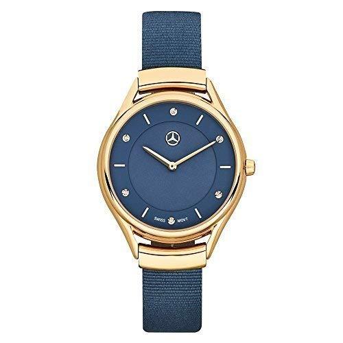 mercedes benz original señoras reloj pulsera acero inoxidable / Cuero