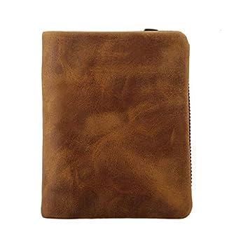 41wDCbtxh8L. SS324  - Bolso de cuero unisex monedero bolso retro clave bolso pequeño de cuero de Crazy Horse