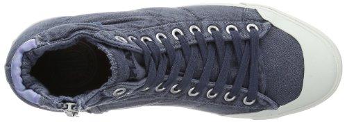 Replay Oana, Hi-Top Slippers femme Blau (NAVY 40)