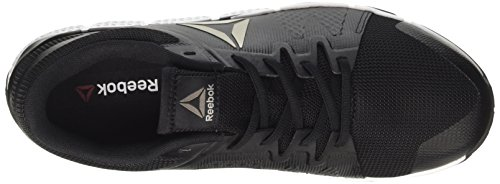 Reebok Herren Trainflex Sneaker Low Hals Schwarz (Black/white/pewter/grey)