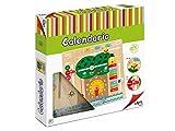 Cayro-8107 Calendario Aprendizaje Madera multidioma, Multicolor (8107)