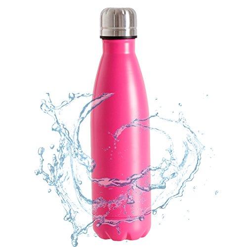 sharewin 17oz doble pared botella de agua vacío y # xFF0C; Aislado