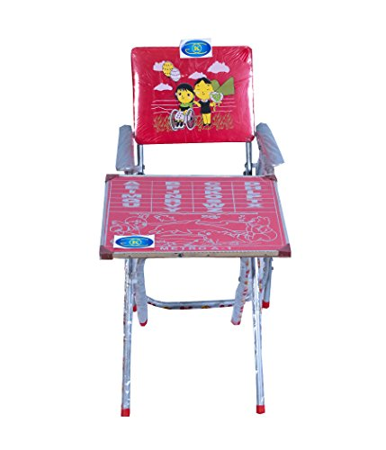 Table Chair for Kids Happy Siblings Baby Small Table Chair Set, Suitable For Kids Between Age 2-10 Years KGC Networks
