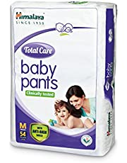 Himalaya Total Care Baby Pants Diapers, Medium, 54 Count