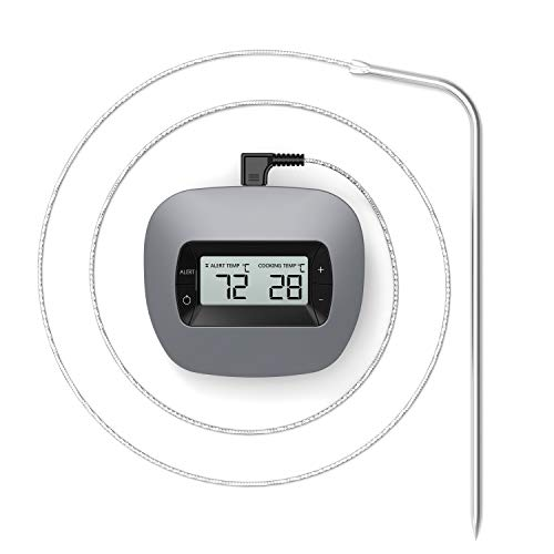 Unbekannt TINS Fleischthermometer,Grillthermometer,Digitale Küchenthermometer,Kochthermometer,Haushaltsthermometer,Essen Fleich Thermometer,7.5 Zoll Lange Edelstahl Sonde,Ideal für BBQ,Milch -