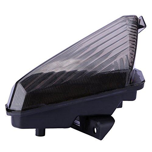 CICMOD Integrato LED Fanale Posteriore Faro Luce Freno Stop Indicatore di Direzione per Yamaha YZF R1 2007-2008 Smoke 07 08