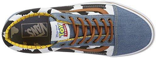 Vans Unisex-Erwachsene Sk8-Hi Reissue Low-Top Mehrfarbig (Toy Story) Woody/Denim)
