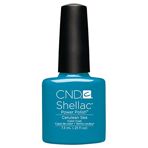 CND - Shellac, Smalto per unghie UV, Cerulean Sea, 7 ml