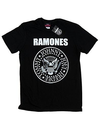 Ramones Bambini e ragazzi Presidential Seal Maglietta 7-8 Years Nero