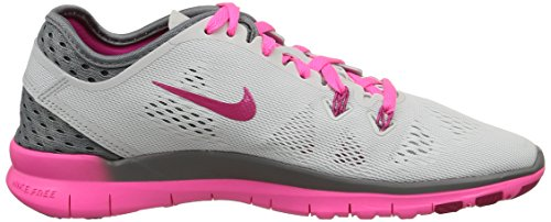 Nike - W Free 5.0 Tr Fit 5 Brthe - , homme, multicolore (pr pltnm/frbrry-cl gry-pnk pw), taille multicolore (Pr Pltnm/Frbrry-Cl Gry-Pnk Pw)