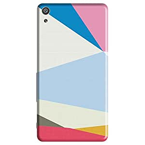 Mobo Monkey Designer Printed Back Case Cover for Sony Xperia XP (Texture And Patterns :: Zigzag :: Stripes :: Geometric :: Girl)
