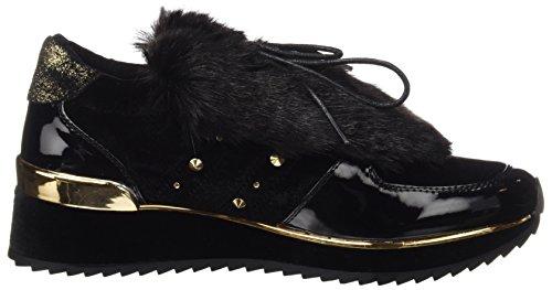 Coolway Damen Rock Sneakers Schwarz (blk)