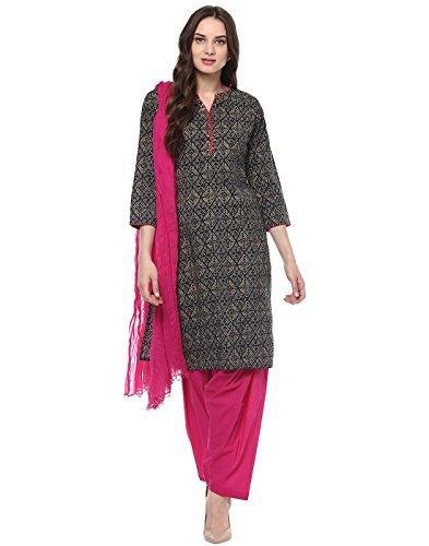 Jaipur Kurti Women's Straight Kurta (JKPTD2901-XL_Blue)