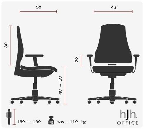 41wDKVVXfHL - hjh OFFICE 621850 RACER PRO IV - Silla gaming y oficina, tejido negro/gris/naranja