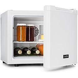 Klarstein Manhattan - Minibar, Mini-réfrigérateur, Réfrigérateur à boisson, A, 35 L, env. 45x39x52,5cm (LxHxP), Faible bruit de fonctionnement, 1 étagère, 3 niveaux de température, Blanc