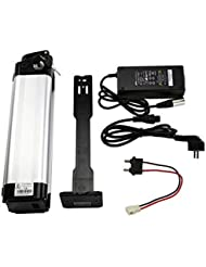 24V(25.2V)15.6ah (390wh)Electric Bicycle Lithium Battery for Prophete E-bike+Charger