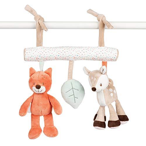 Nattou Babyschale Spielzeug, Mädchen und Jungen - Fanny und Oscar