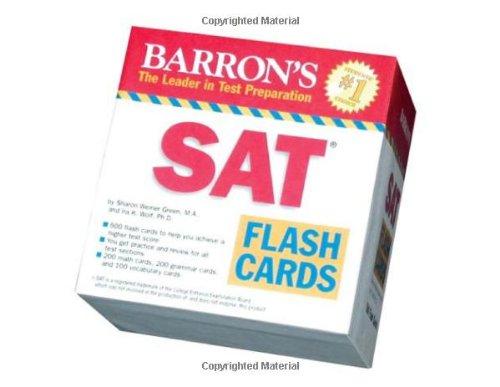 Sat Flash Cards