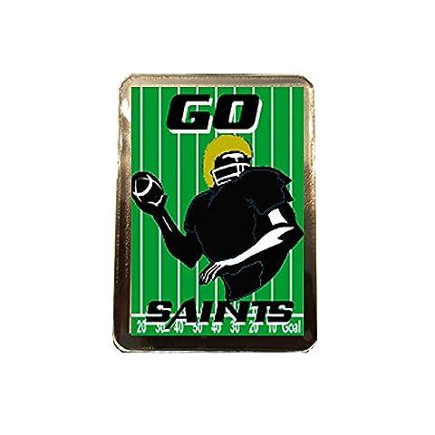 New Orleans Saints - GO! Fridge Magnet (New Orleans Saints Magnet)