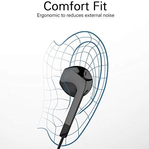 SHAIMU Earphone EPA-103 Headphone Headset for Apple iPhone 5s, 5, 6, 6s Plus SE & iPad Devices (Type4, Black) Image 4