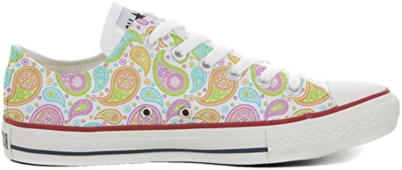 mys Converse All Star Personalisierte Schuhe (Handwerk Produkt) Colorful Paisley