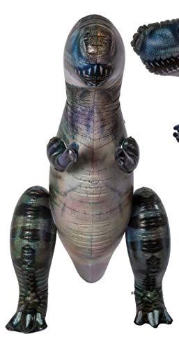 MC Trend XXL Dinosaurier aufblasbar Dino Pool-Wasser-Spielzeug Spaß Deko-Pool-Party-Idee Geschenk