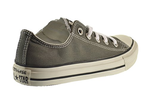 Converse Chuck Taylor Seasonal Ox Unisex Shoes Charcoal 1j794 Charcoal