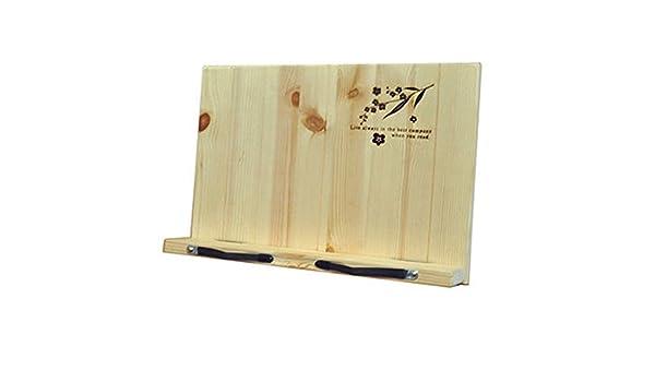 Leggio porta documenti portatile scrivania lettura libro in legno