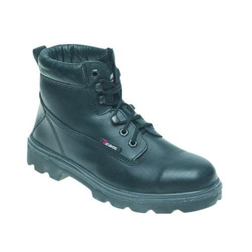 Toesavers S3 Safety Boot in pelle nero – 1100 Black