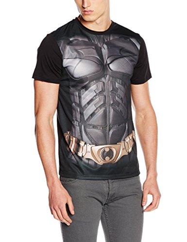 Batman Costume Camiseta Negro M