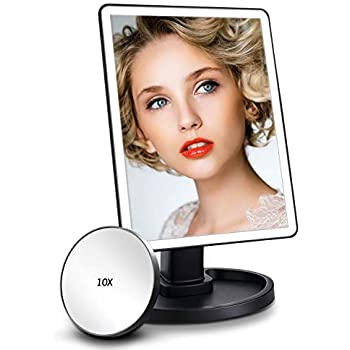 Comsmart Lighted Makeup Mirror Vanity Mirror With