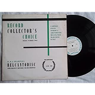 AJK 102 VARIOUS ARTISTS Record Collector's Choice: Series Number Two LP