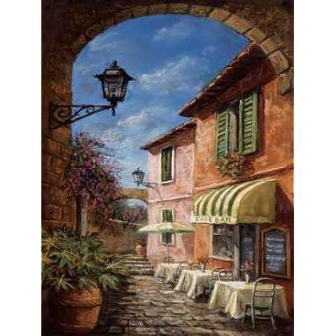 Attraverso la Archway di Malcolm Surridge-Stampa su tela, in carta e decorazioni disponibili, Tela, SMALL (18 x 24 Inches )