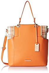 Stella Ricci Womens Shoulder Bag (Orange) (SR219HORA)