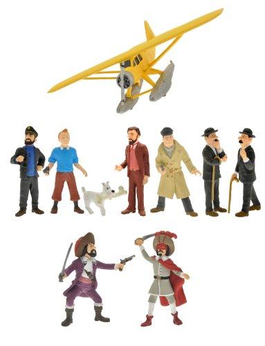 Plastoy Las Aventuras de Tintín - Juego de Figuras de colección 2