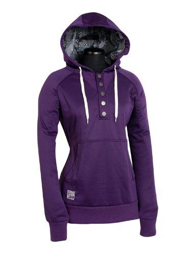 Nitro Damen Kapuzensweatshirt PULLY HD purple