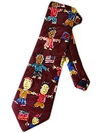 Steven Harris Multicultural Children Kids Necktie - Blue - One Size Neck Tie